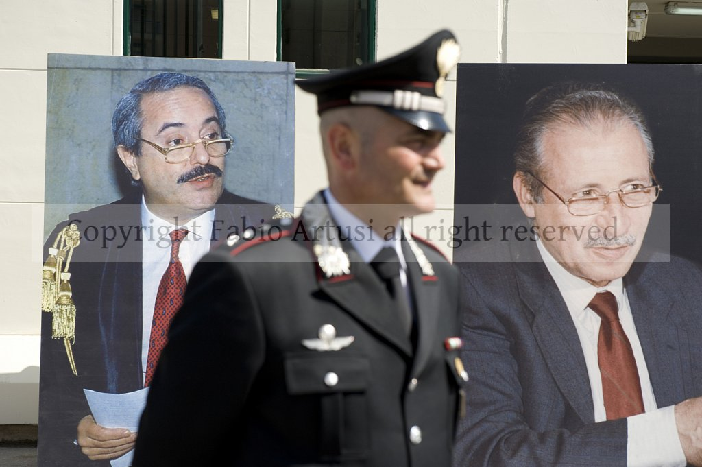 Falcone and Borsellino Anniversaries, Palermo.