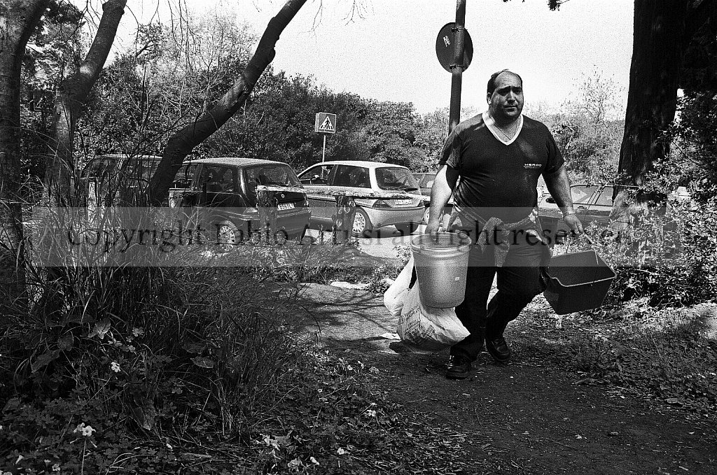 "Pic Nic at the ""Favorita"" Park. Palermo"