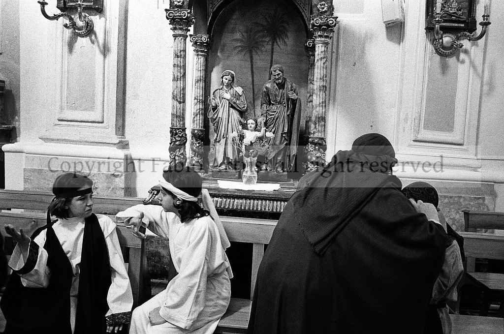 Holy Thursday Procession in Marsala, Sicily